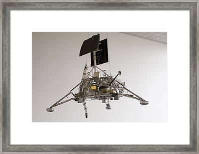 Surveyor Lunar Lander Test Model Framed Print by Mark Williamson