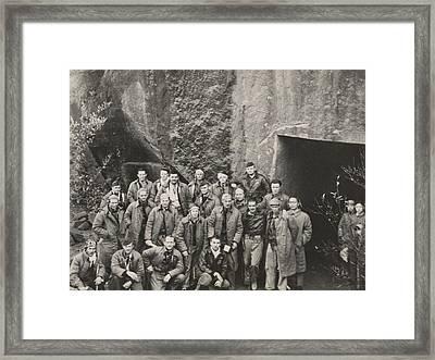 Survivors Of General Jimmy Doolittles Framed Print by Everett