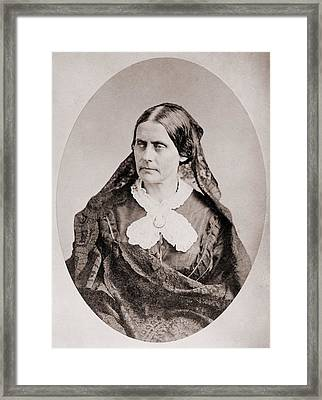 Susan B. Anthony 1820 �1906, American Framed Print by Everett