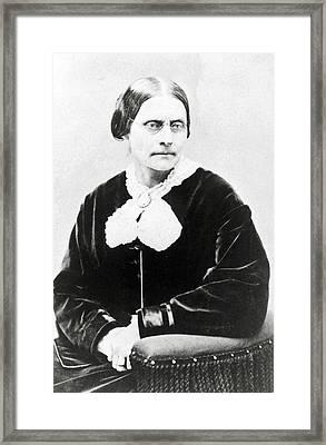 Susan B. Anthony 1820-1906, In 1871 Framed Print