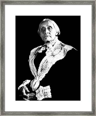 Susan B. Anthony, Photograph Taken Framed Print