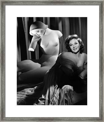 Susan Hayward, Ca. 1952 Framed Print by Everett