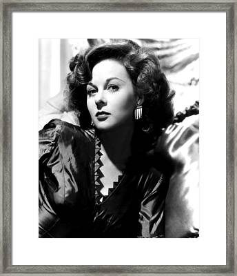 Susan Hayward, Eagle-lion Films, 1949 Framed Print by Everett