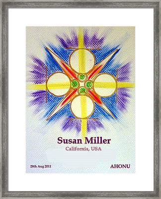 Susan Miller Framed Print