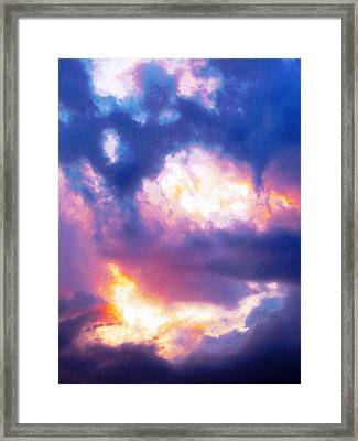 Suspended Disbelief 1 Framed Print