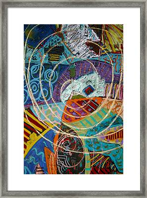 Swallowed Whole By Whale Framed Print