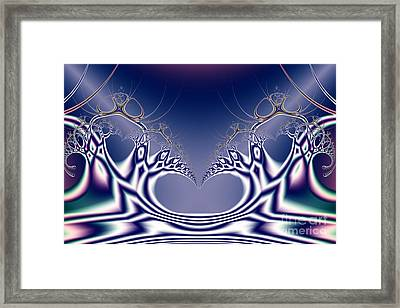 Swan Lake Ballet . S7 Framed Print by Wingsdomain Art and Photography