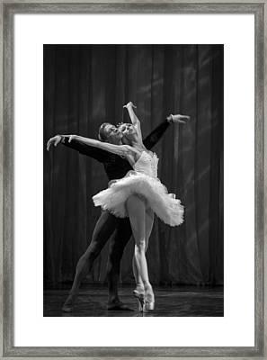 Swan Lake  White Adagio  Russia 2 Framed Print