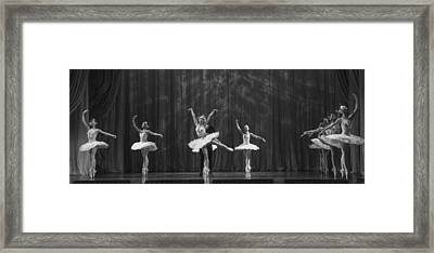 Swan Lake  White Adagio  Russia 4 Framed Print by Clare Bambers