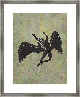 Swan Song Framed Print by Erika Betts