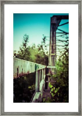 Sweating Iron Framed Print by Matti Ollikainen