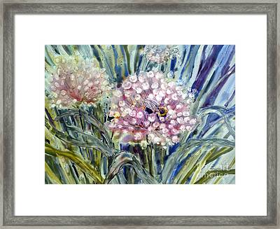 Framed Print featuring the painting Sweet Attraction by Louise Peardon