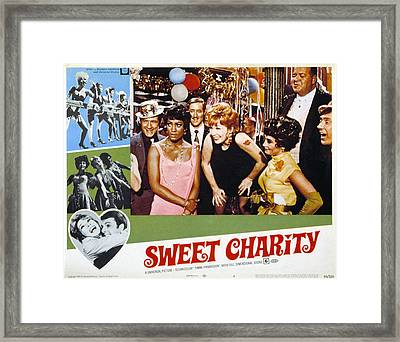 Sweet Charity, Paula Kelly, Shirley Framed Print