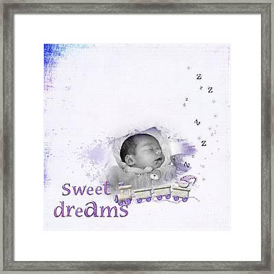 Sweet Dreams Framed Print by Joanne Kocwin