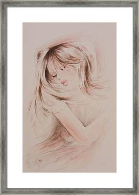 Sweet Dreams Framed Print by Rachel Christine Nowicki