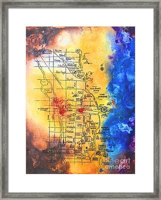 Sweet Home Chicago Framed Print