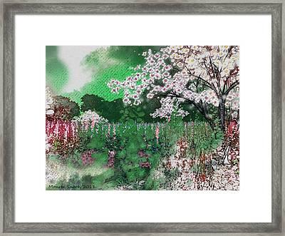 Sweet Meadow Framed Print by Monroe Snook