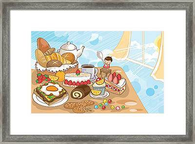 Sweet Morning Framed Print by Littlebirth