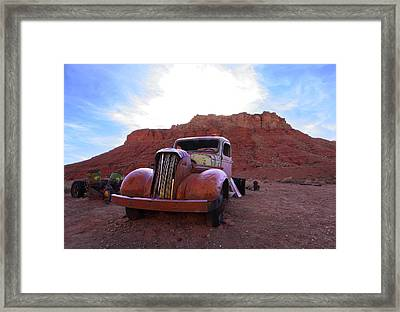 Sweet Ride Framed Print
