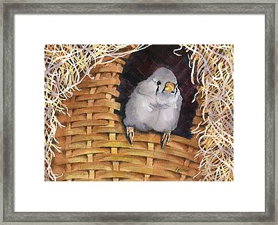 Sweet Tweets Framed Print by Marsha Elliott