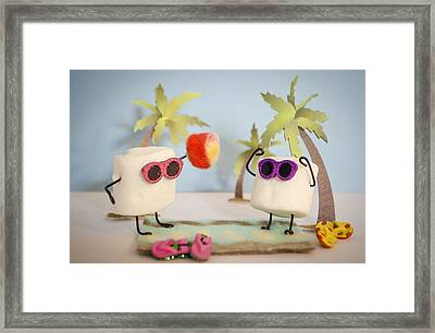 Sweet Vacation Framed Print by Heather Applegate