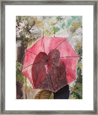 Sweet Valentine Framed Print by Kim Selig