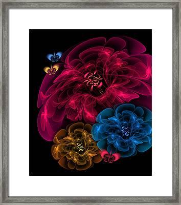 Sweetheart Bouquet Framed Print