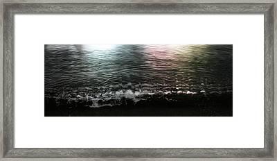 Swim Framed Print by Janet Kearns