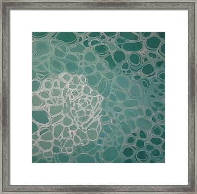 Swimming Pool Filter IIi Framed Print by Valentine Estabrook