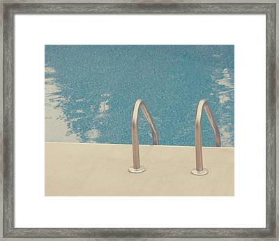 Swimming Pool Framed Print by Jessica Helinski