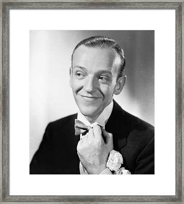 Swing Time, Fred Astaire, 1936 Framed Print