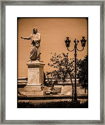 Athens, Greece - Swinger Framed Print