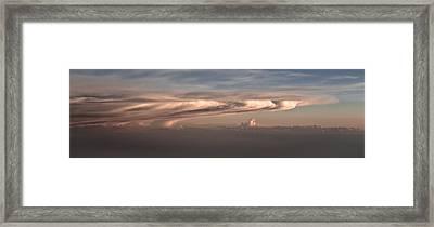 Swirl Framed Print by Michael Braxenthaler