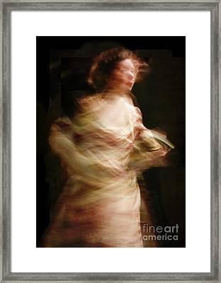 Swirling Framed Print by Margie Hurwich