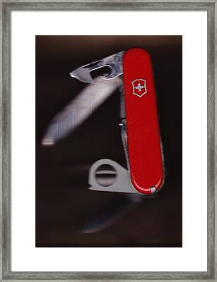 Swiss Army Knife Framed Print