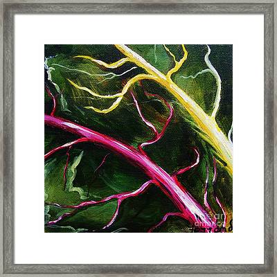 Swiss-chard Framed Print