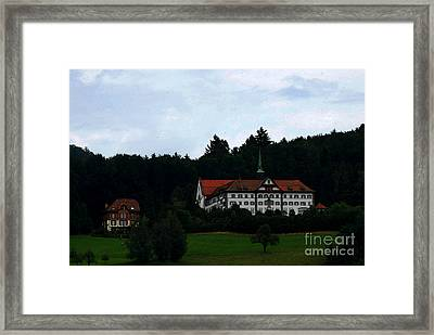 Swiss Countryside Framed Print