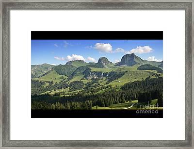 Swiss View 1 Framed Print