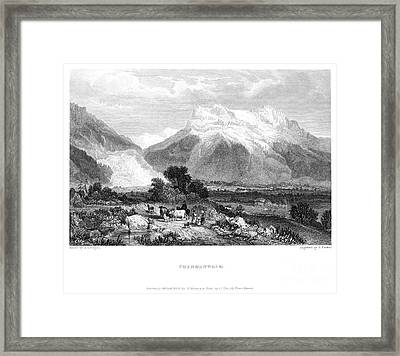 Switzerland: Grindenwald Framed Print by Granger