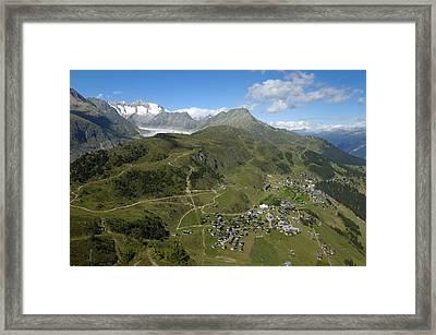 Switzerland Swiss Alps Framed Print by Matthias Hauser