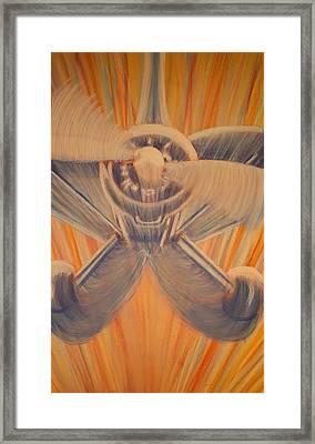 Swoop Framed Print by Thomas Maynard