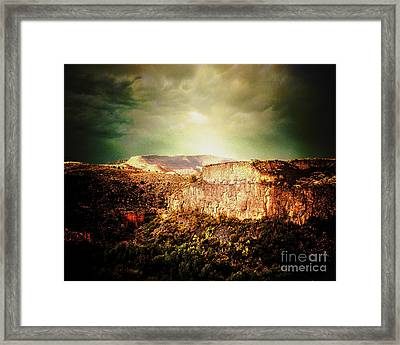 Sycamore Canyon Framed Print