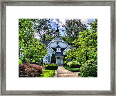 Sykesville Church Framed Print by Stephen Younts