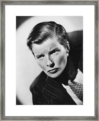 Sylvia Scarlett, Katharine Hepburn, 1935 Framed Print