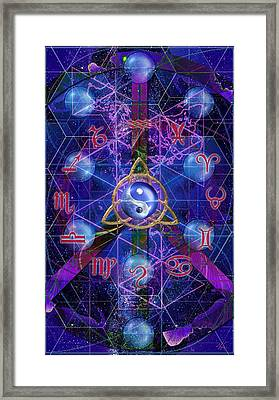 Symagery 35 Framed Print by Kenneth Armand Johnson