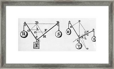 Symbol Language Of Statics Framed Print by Science Source