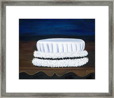 Framed Print featuring the painting Symbol Of A Proud Profession Iv by Marlyn Boyd