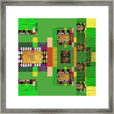 Symmetrica 147 Framed Print by Nedunseralathan R