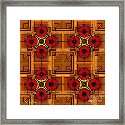 Symmetrica 188 Framed Print by Nedunseralathan R