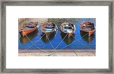 Symmetry Framed Print by Joana Kruse